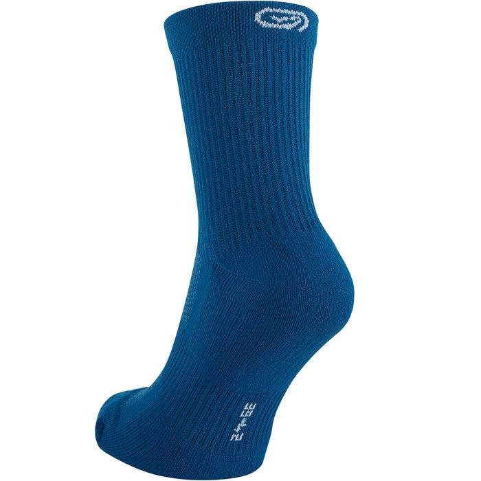 Halfhoge hardloopsokken Comfort blauw X2