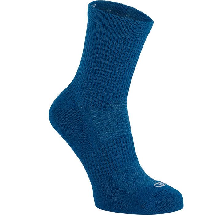 Laufsocken halbhoch Mid Komfort 2er-Pack blau