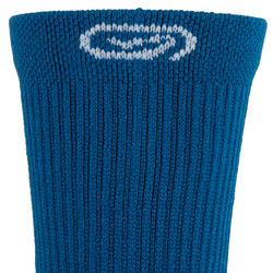Halfhoge hardloopsokken Comfort 2 blauw