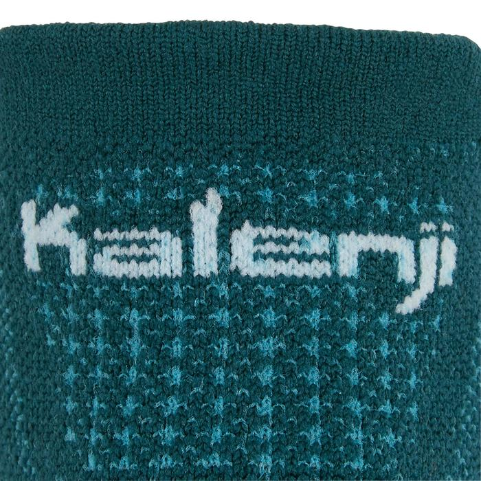 Calcetines Running Kalenji Kiprun Finos Adultos Azul Turquesa