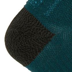 KIPRUN THIN MID-HEIGHT RUNNING SOCKS - PETROL BLUE