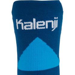 Calcetines Running Kalenji Kiprun Strap Gruesos Adulto Azul