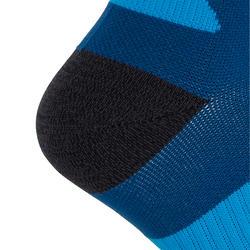 Dikke hardloopsokken met strap blauw