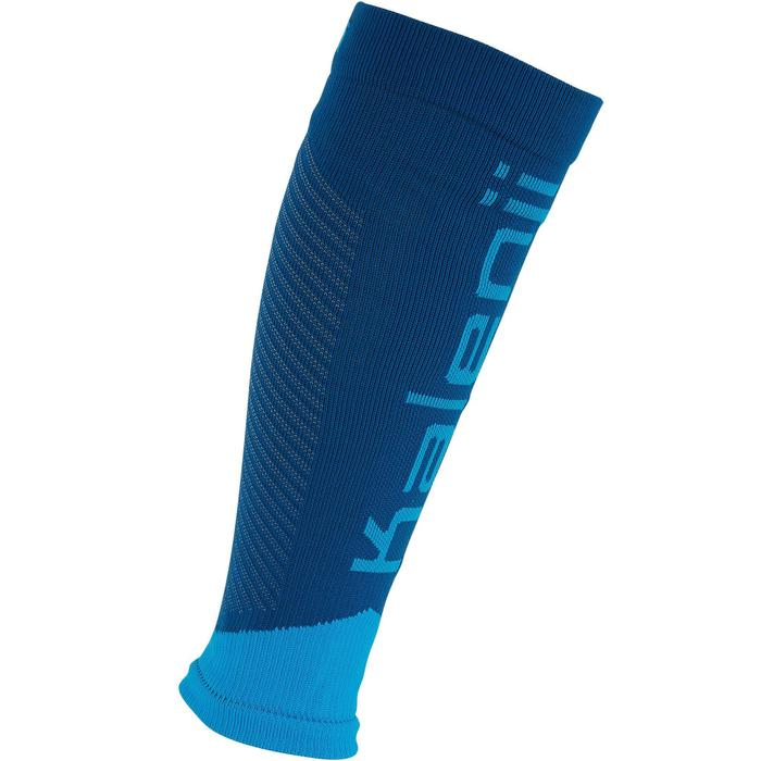 Beinlinge Kiprun Kompression blau