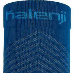 Pantorrillera De Compresión Running Kalenji KiprunAzul Prusia/Azul