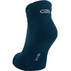 CALCETINES adultos running CONFORT INVISIBLES x2 AZUL OSCURO