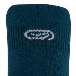 Onzichtbare hardloopsokken Comfort 2 petrolblauw
