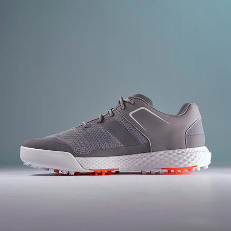 MEN'S GOLF SHOES DRY GRIP GREY