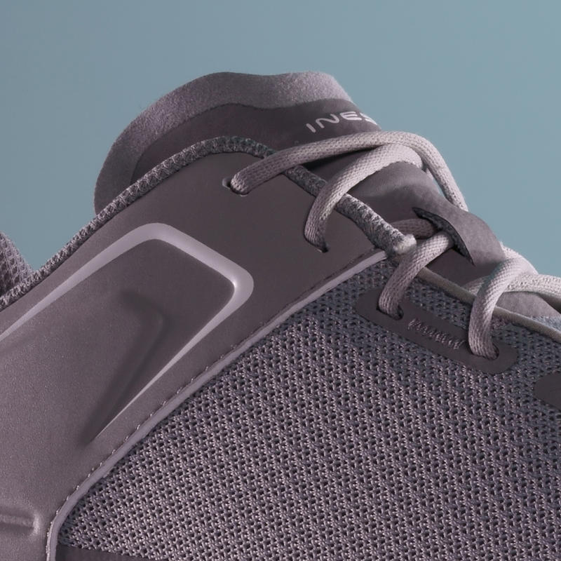 Men's Breathable Golf Spike Shoes Grey