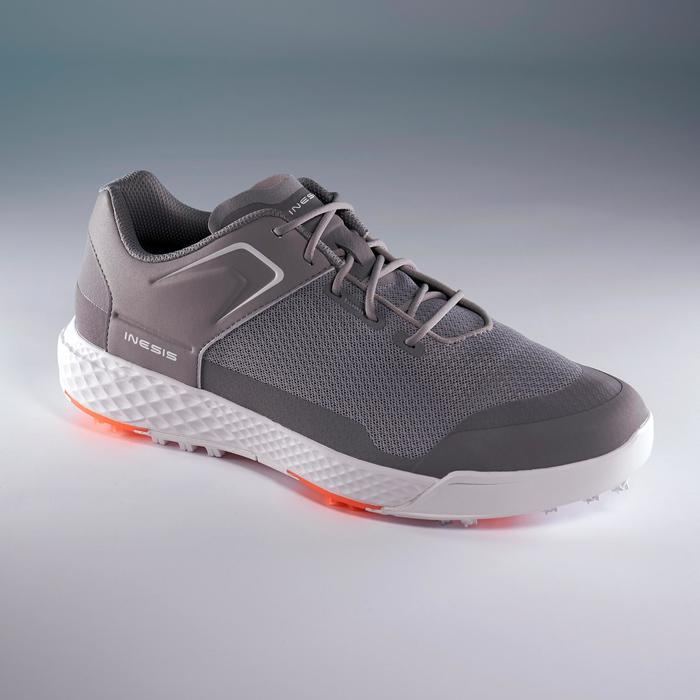 Golfschoenen heren Grip Dry grijs