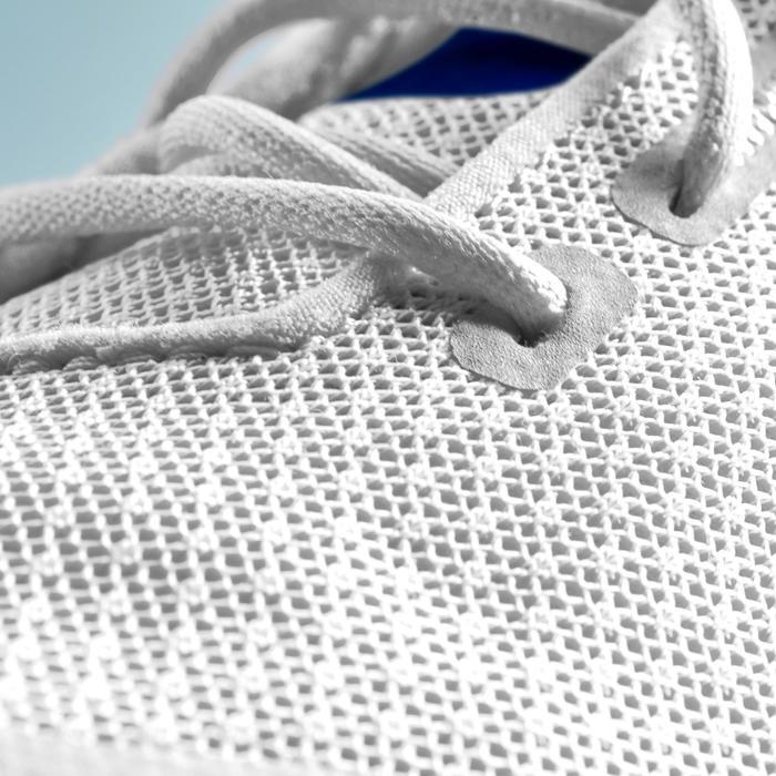 Golfschoenen heren Grip Dry wit en blauw