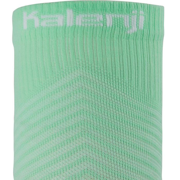Laufsocken Kompression Kiprun mintgrün