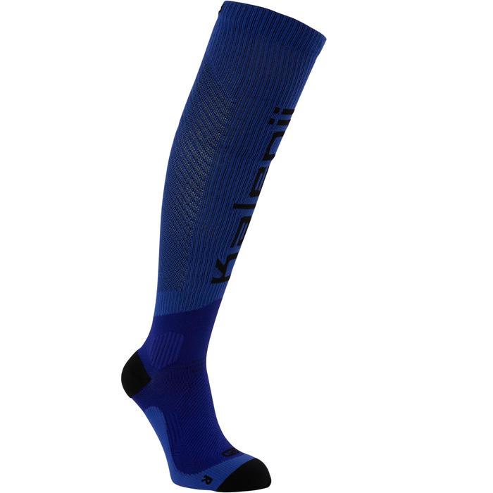 Compressiekousen voor hardlopen blauw