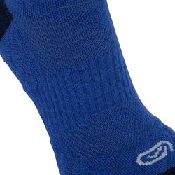 Laufsocken High warm Kiprun blau