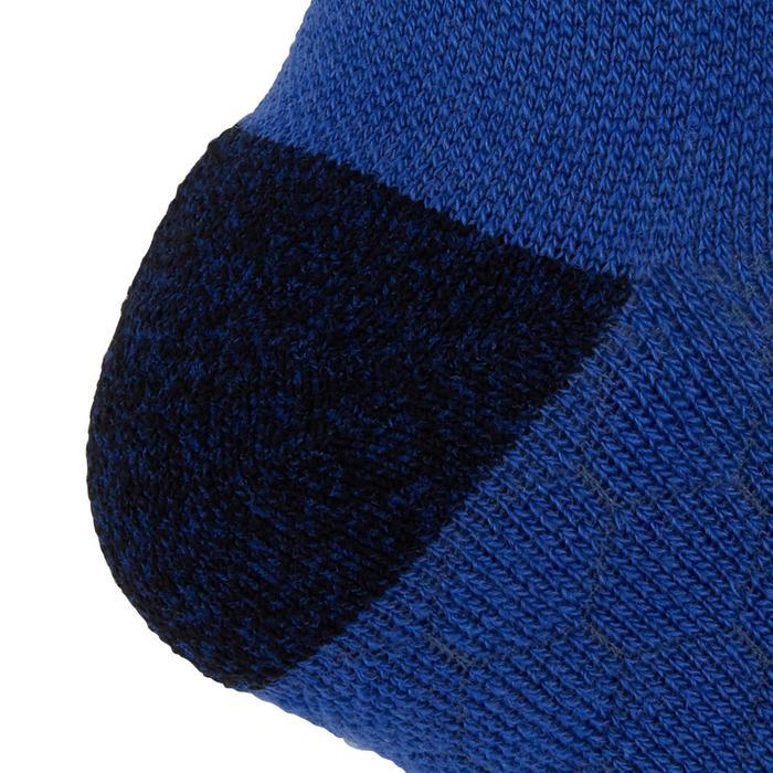 Hardloopsokken warm hoog Kiprun blauw