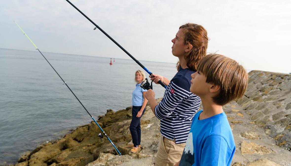 Réussir ses premières pêches en bord de mer