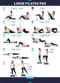 PILATES EQUIPMENT - Large Pad 39x50x6cm DOMYOS