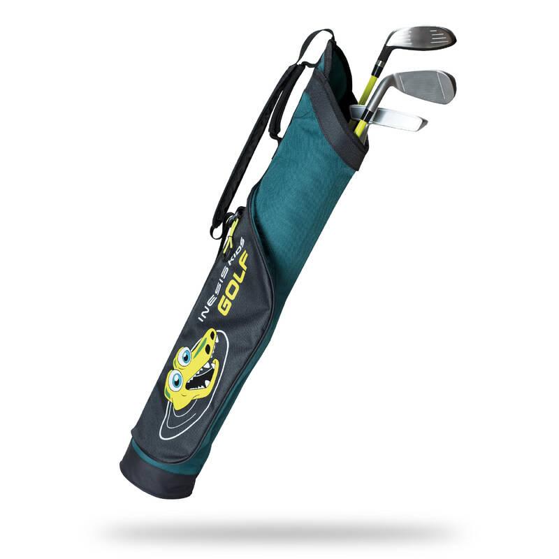 JUNIOR GOLF PACK Golf - SADA PRO LEVÁKY 5–7 LET  INESIS - Golfové hole a sety