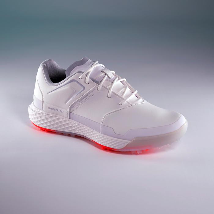 Golfschoenen dames Grip Waterproof wit