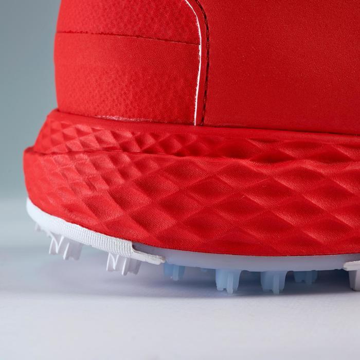Golfschoenen heren Grip Dry rood