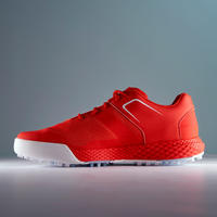 CHAUSSURES GOLF HOMME GRIP DRY ROUGES