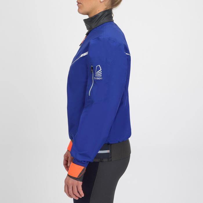 Vareuse coupe-vent Voile femme Dinghy 500 Bleu électrique/rouge