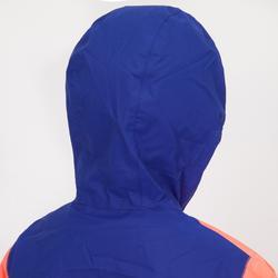Windbestendige spraytop Zeilen kind Dinghy 100 koraalblauw