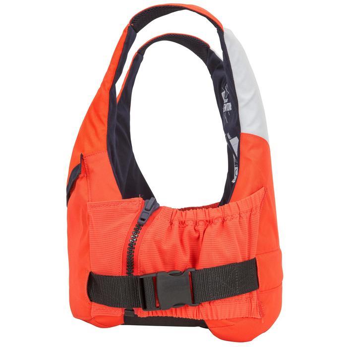 Zwemvest 50N voor open boot zeilen 500 oranje