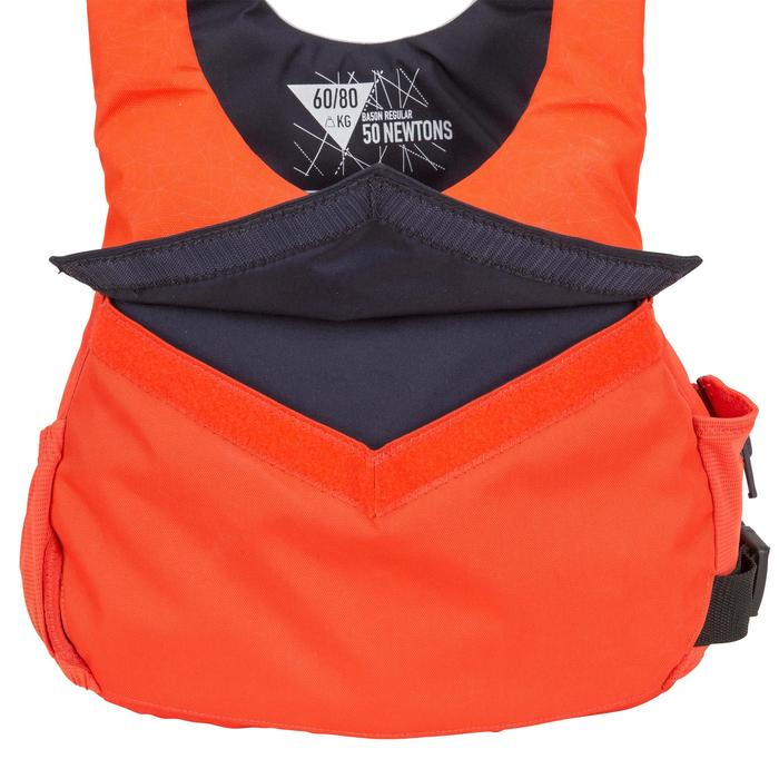 航海浮力背心50N Dinghy 500-橘色