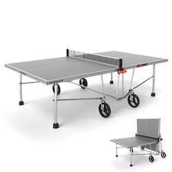 Tafeltennistafel / pingpongtafel outdoor PPT 530 (FT 830) grijs