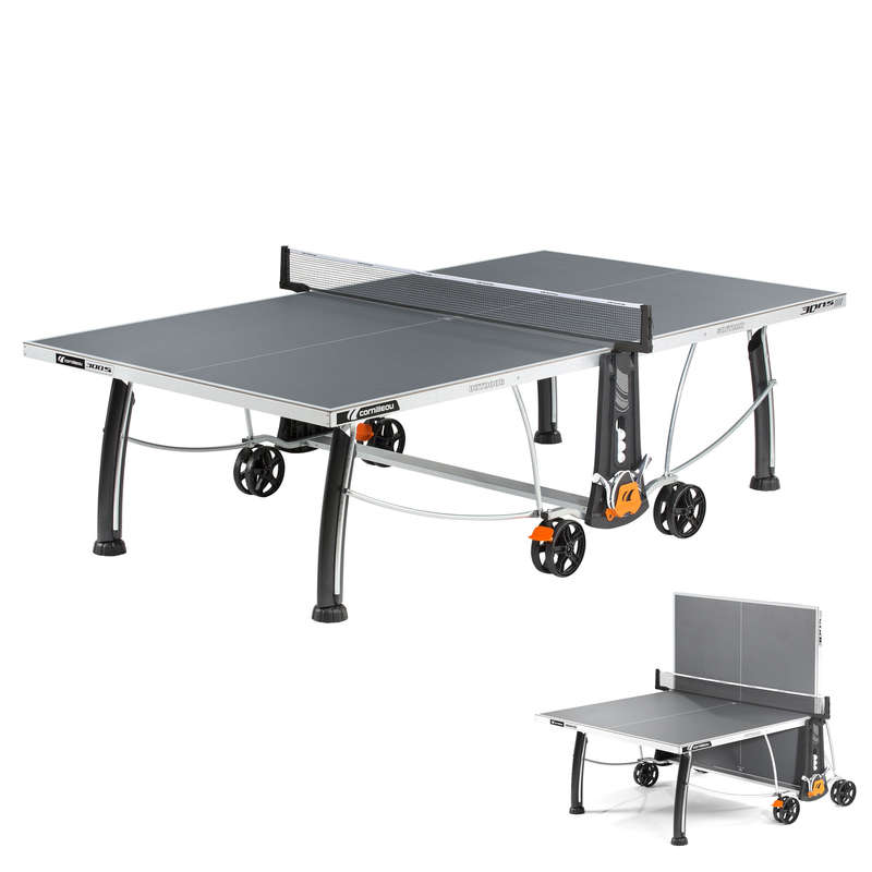 FREE TABLES Table Tennis - Crossover 300S Table - Grey CORNILLEAU - Table Tennis Tables
