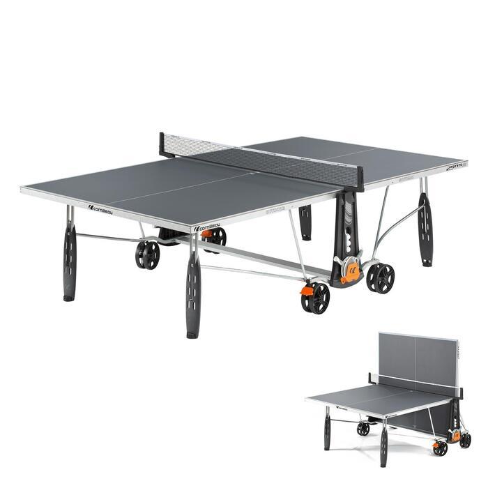 TABLE DE TENNIS DE TABLE FREE CROSSOVER 250S OUTDOOR GRISE