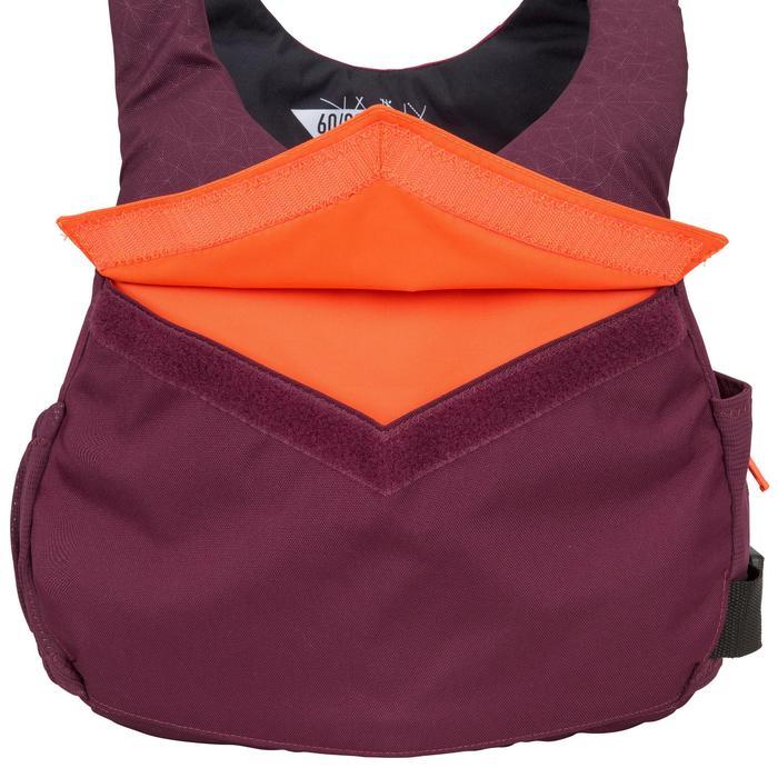 Gilet d'aide à la flottabilité 50N Voile Dinghy 500 violet
