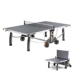 TABLE DE TENNIS DE TABLE FREE CROSSOVER 500M OUTDOOR GRISE