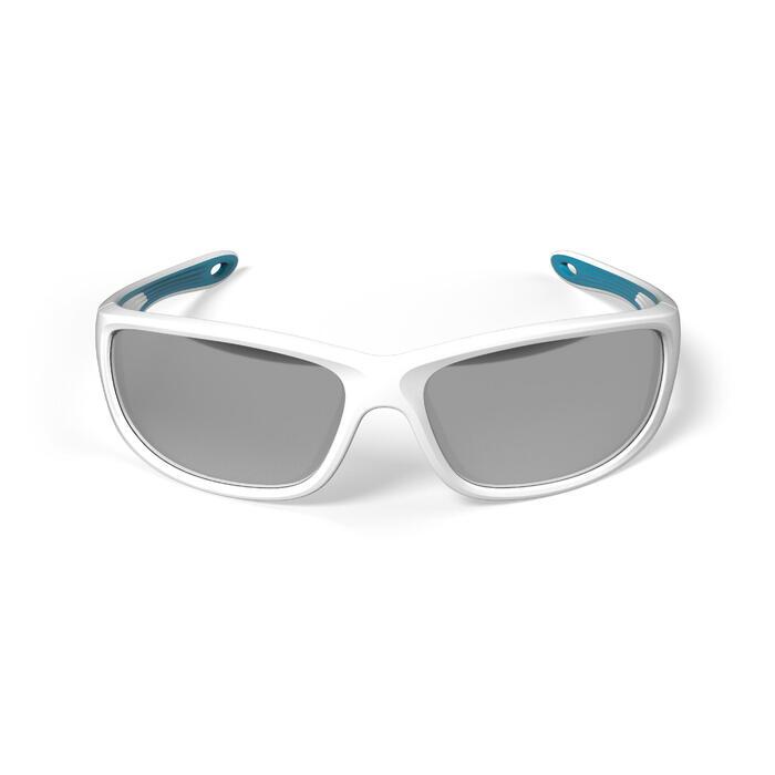 Watersportbril 900 voor volwassenen wit, drijvend polariserend categorie 3