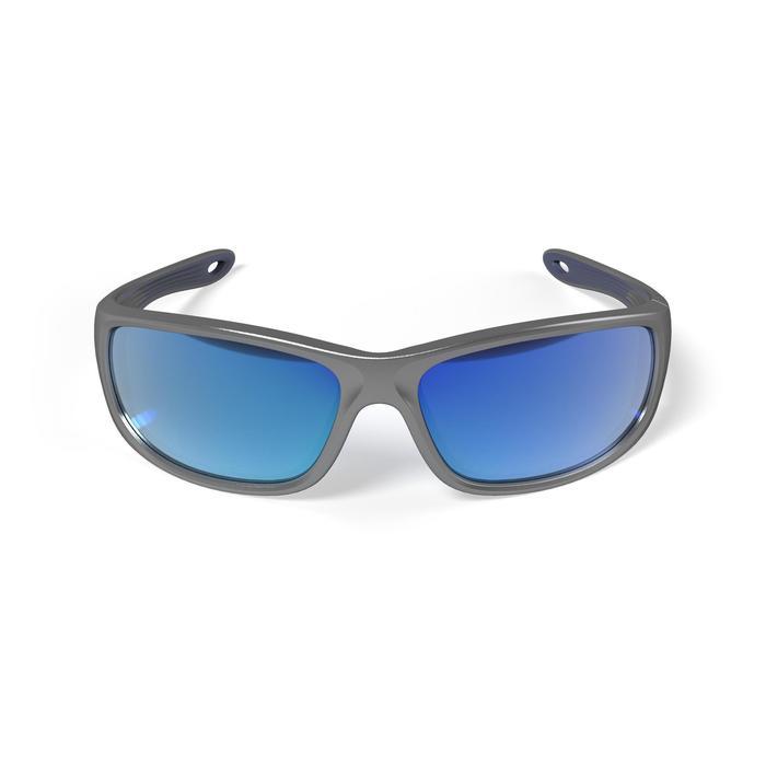 Drijvende watersportbril 900 voor volwassenen grijs, polariserend categorie 3