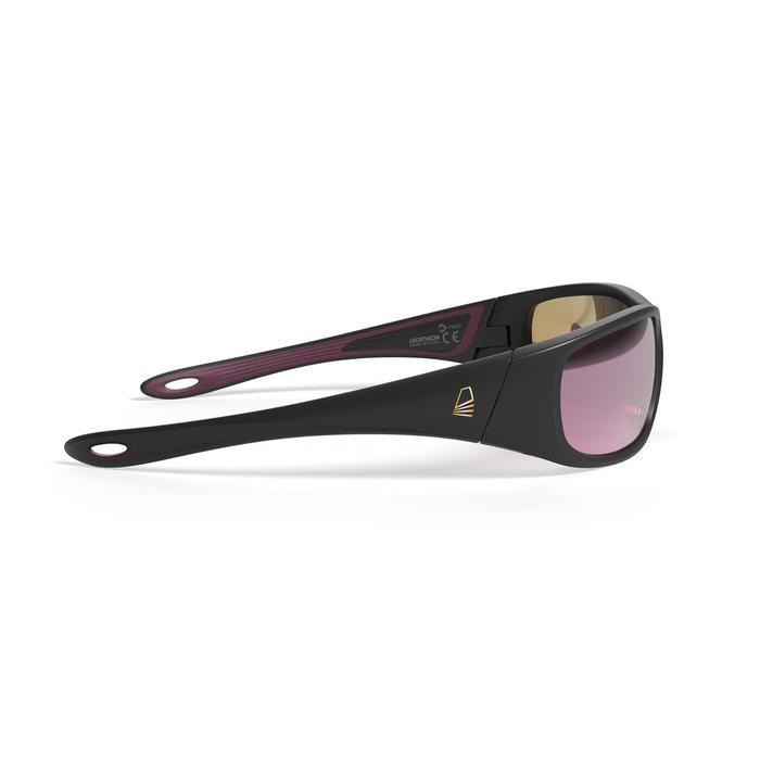 Sonnenbrille Segeln 900 schwimmfähig polarisierend Kat.3 schwarz