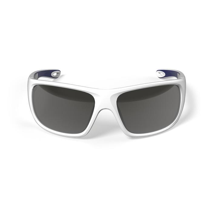 Gafas de sol polarizadas de vela adulto 500 blancas categoría 3