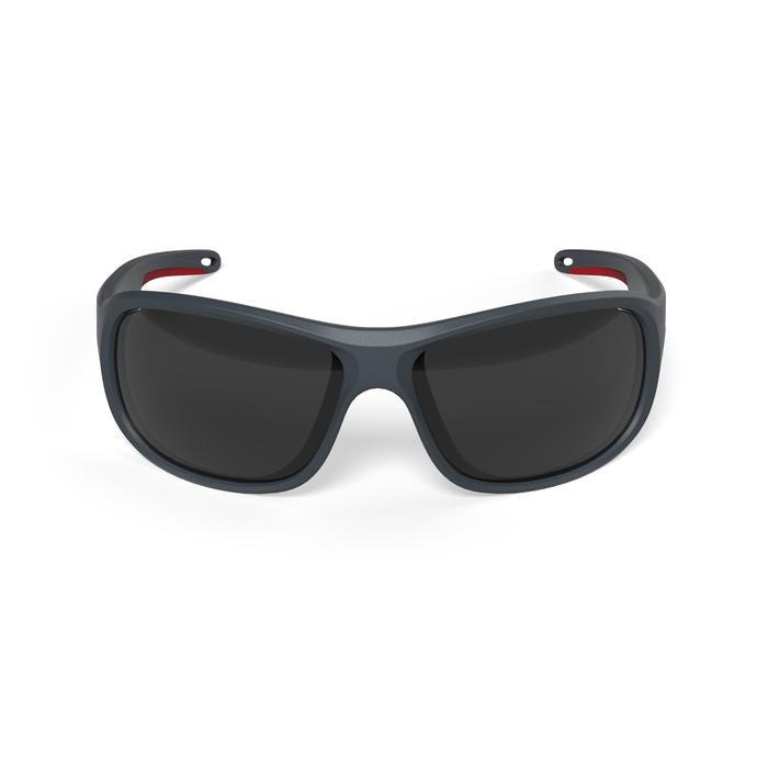 Sonnenbrille Segeln Race 100 polarisierend Erwachsene Kat. 3 blau