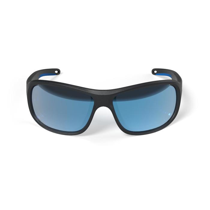 Gafas de Sol Polarizadas Barco Vela Tribord Sailing 100 Adulto Negras