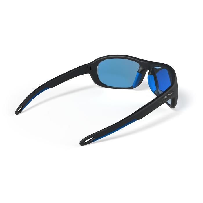 Sonnenbrille Segeln Race 100 polarisierend Erwachsene Kat.3 schwarz