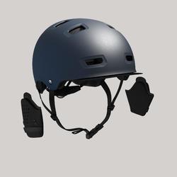 Fahrradhelm City 500 dunkelblau