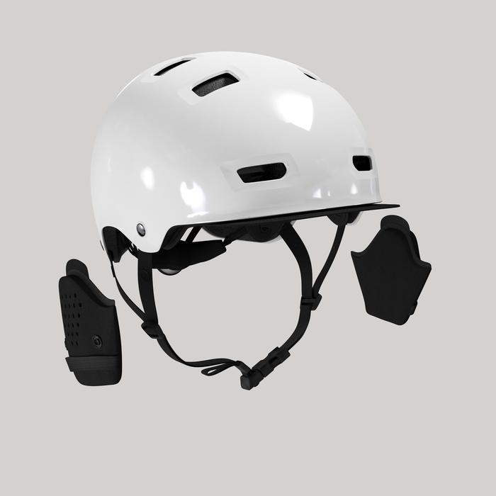 Fahrradhelm City 500 Bowl weiß