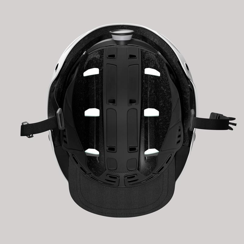 500 City Cycling Bowl Helmet - White