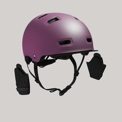 500 City Cycling Bowl Helmet - Plum