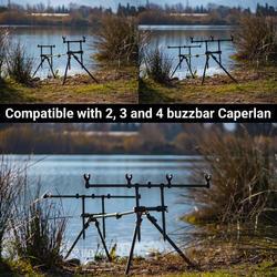 Support de cannes pêche de la carpe 4 CANNES