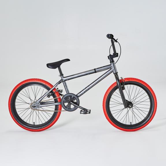 pneu rouge bmx