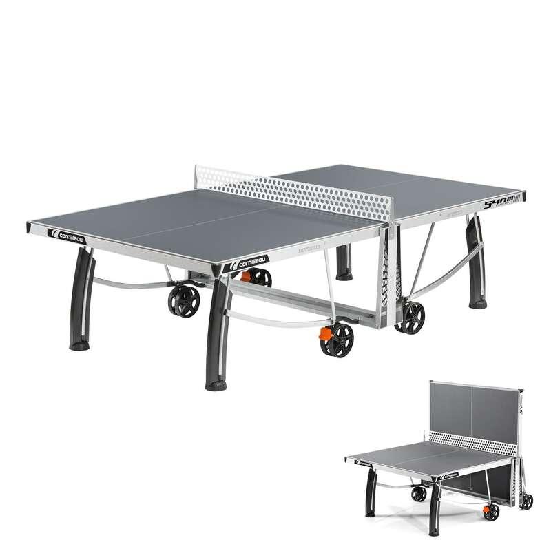 SZABADIDÖS ASZTALITENISZ-ASZTALOK Pingpong - Pingpongasztal 540 Pro, szürke CORNILLEAU - Pingpongasztalok, kiegészítők