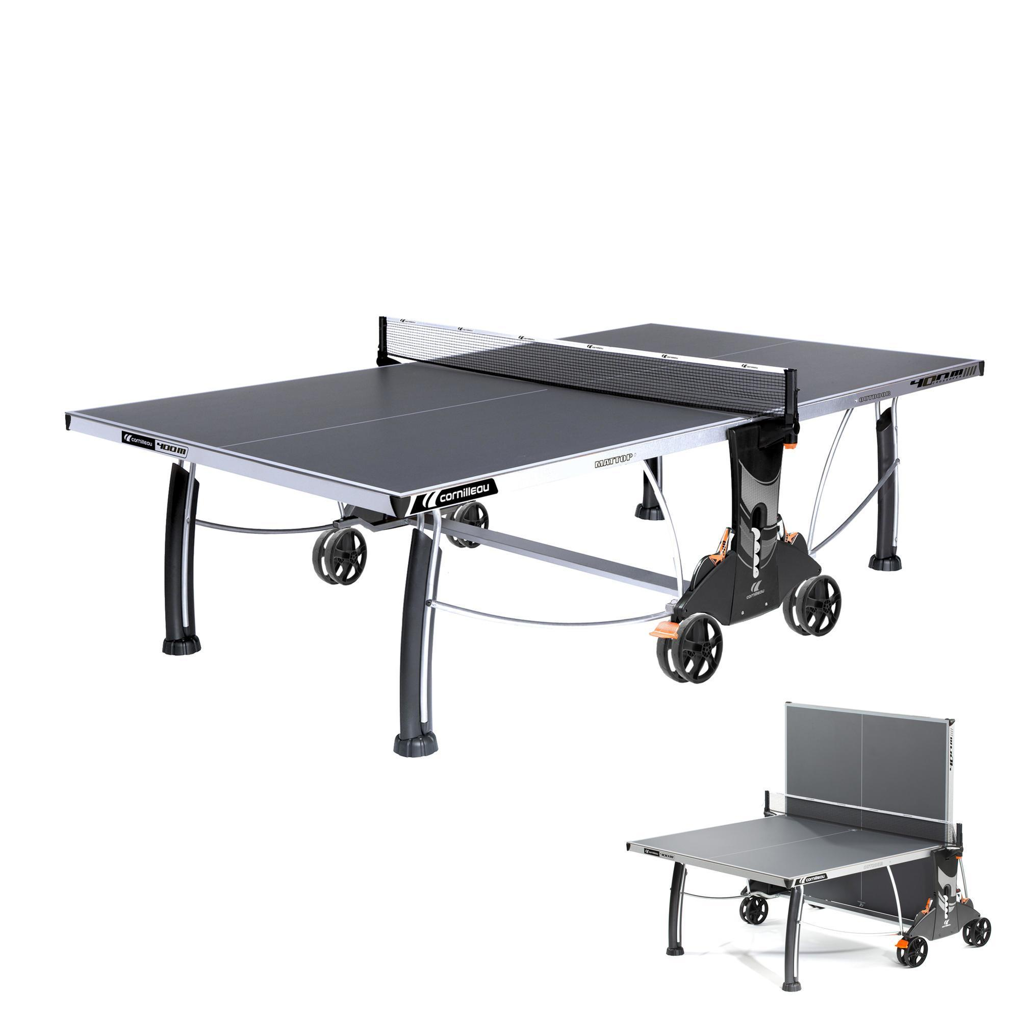 Tables De Ping Pong Outdoor Indoor Decathlon