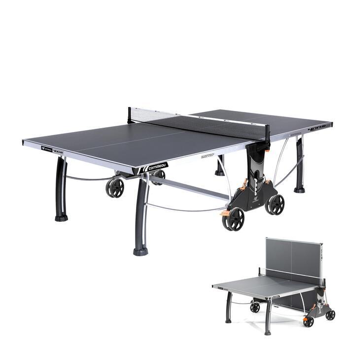 Tischtennisplatte Free Crossover 400S Outdoor grau